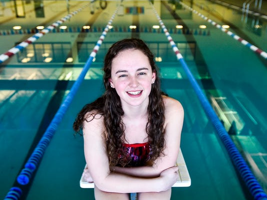 January Athlete of the Month Madison Linstedt