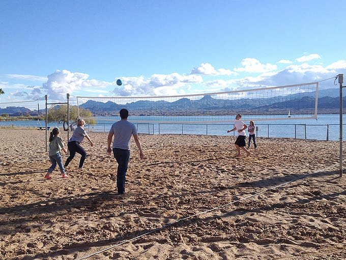 Rotary Beach is a 40-acre facility that includes picnic