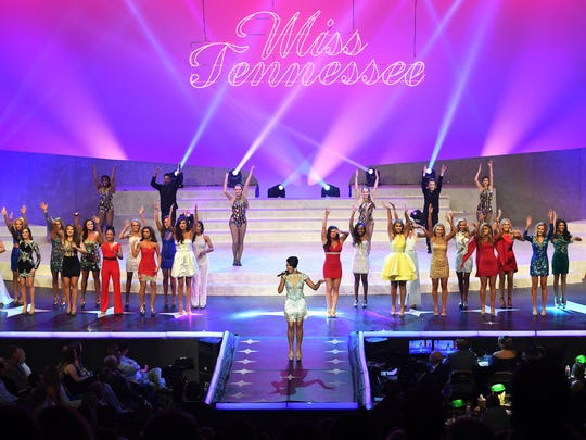 The 2017 Miss Tennessee Scholarship Pageant contestants