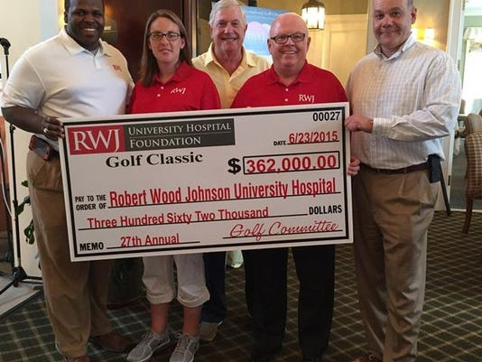 Golf Classic 2015 Check Presentation - compressed
