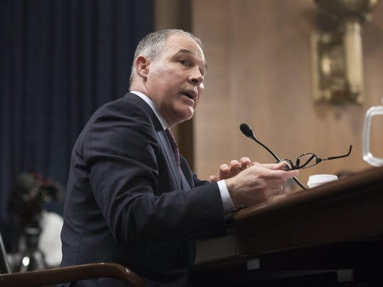 Senate Environment and Public Works Committee confirmation hearing on the nomination of Scott Pruitt to be Administrator of the Environmental Protection Agency