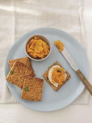 These maple squash tartines are a perfect start to a holiday meal.