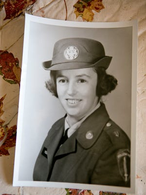 Yvonne Freer of Junction City's photo of herself during her time in the service.