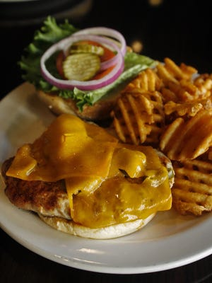The grilled tenderloin sandwich at Legend's American Grill includes jalapenos.