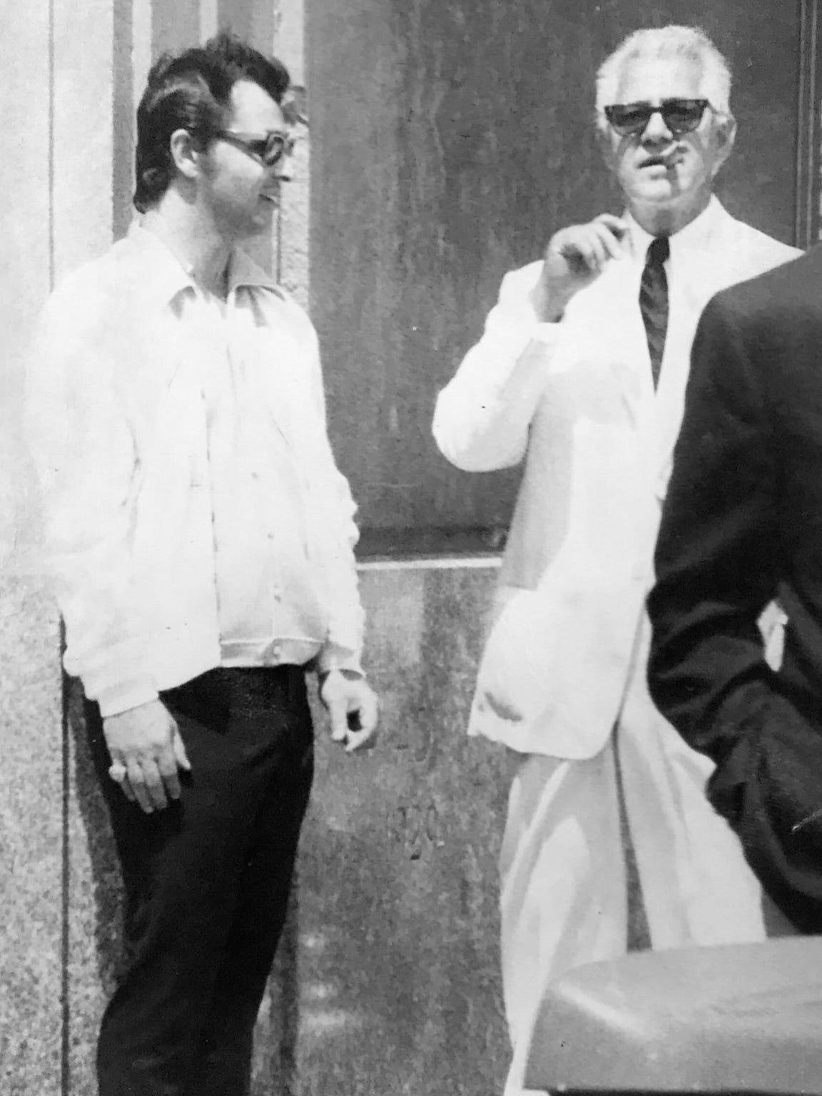 Sammy Gingello, left, and Frank Valenti.