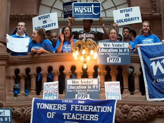 NY Legislature Schools Rally