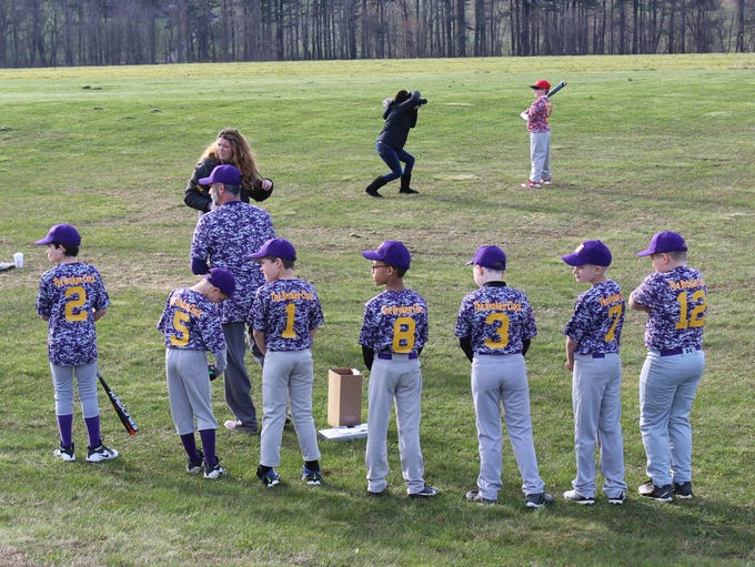 Hanover Baseball celebrates its opening day, April