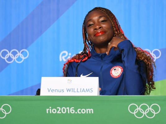 Olympics: USA Tennis Press Conference