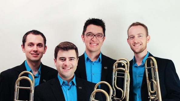 Trombone quartet Maniacal4 plays everything from chamber