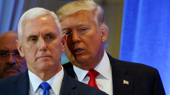 Former Indiana Gov. Mike Pence is expected to play an important role as vice president to Donald Trump, who has no experience in public office.