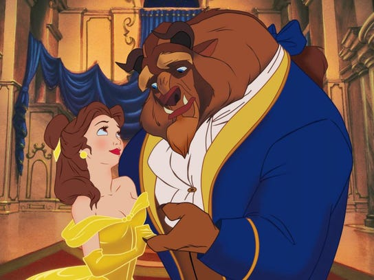 "1991's ""Beauty and the Beast"""