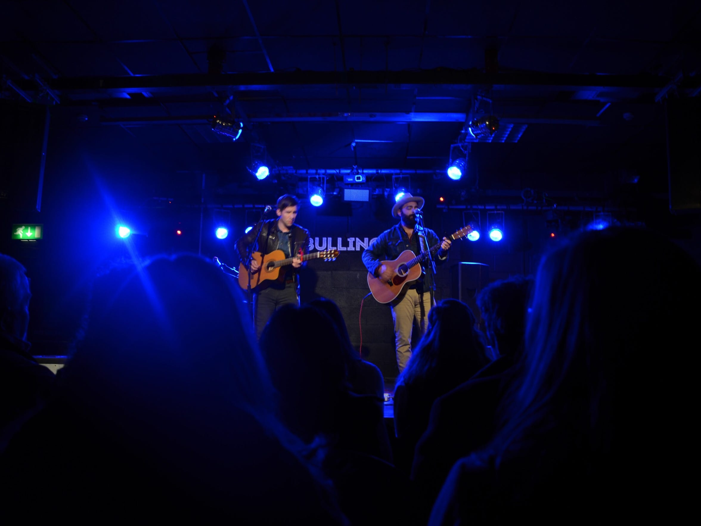 Drew Holcomb & the Neighbors at The Bullingdon in February 2015