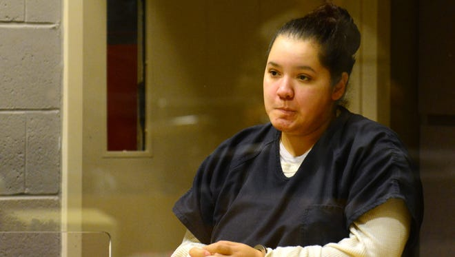 Mercedes Alvarado, who has been charged with second-degree manslaughter for the death of her daughter, Aniya.