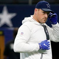 The Latest: Witten passes Irvin as Cowboys' yardage leader