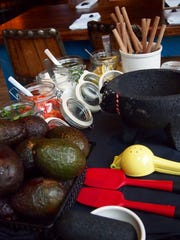 The presentation of The Tableside Guacamole is beautiful,