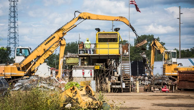 The contaminated Hartford Iron & Metal salvage yard in Hartford City has been the subject of five years of litigation over how to clean it up.
