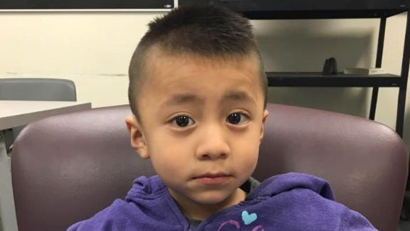 Bridgeton Police Department needs your help in identifying this child and his parents. He was found walking in the street alone.