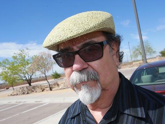El Paso Times reporter Ramón Rentería retired after 43 years.