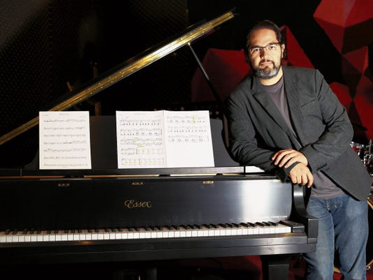 Jazz composer-pianist Matias Carbajal will perform with his group The Matias Carbajal Jazz Ensemble on Sunday as part of the El Paso Blues and Jazz Festival.