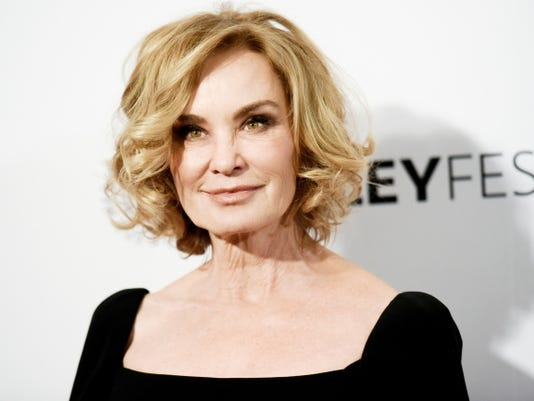"In a Sunday, March 15, 2015 file photo, Jessica Lange arrives at the 32nd Annual Paleyfest : ""American Horror Story: Freak Show"" held at The Dolby Theatre, in Los Angeles. The Roundabout Theatre Company said Tuesday, May 26, 2015 that Lange will return to Broadway next spring in a production of ìLong Day's Journey Into Night,î playing the same role she did 15 years ago in London."