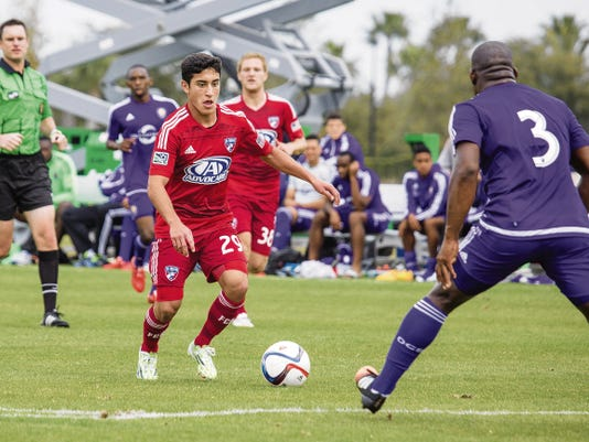 El Pasoan Alejandro Zendejas is playing for the MLS team FC Dallas. Zendejas made his debut May 1 at age 17, got his first start June 13 in front of 41,108 fans at Seattle and is earning regular time on America's biggest soccer stage as the league's youngest player.