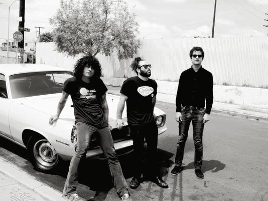 Antemasque are scheduled to perform at 8:30 p.m. Saturday at the Neon Desert Music Festival in Downtown El Paso.