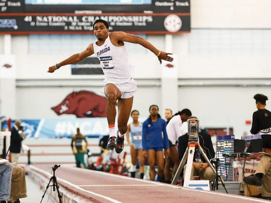 KeAndre Bates was named the field athlete of the year following a first and second place finish at the NCAA Track and Field Championships. The El Paso native is a graduate of Burges High School.