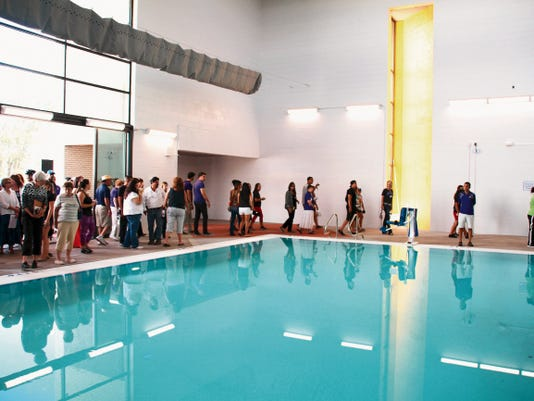 An open house for the new pool and fitness center at WNMU was held on Aug. 21. The facility is set to open on Sept. 21. Mary Alice Murphy - Sun-News