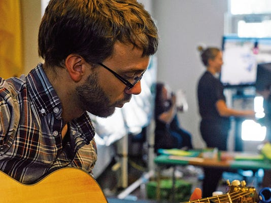 The Make.Do Fair at the Farmington Public Library will feature several how-to stations, including one that focuses on playing the guitar.
