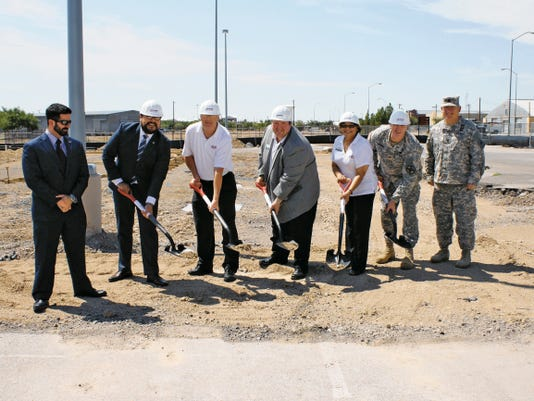 Courtesy photo FirstLight Federal Credit Union, an El Paso and Las Cruces consumer financial institution for sixty years, recently hosted a ground breaking ceremony for a new branch location at Fort Bliss Army Post.