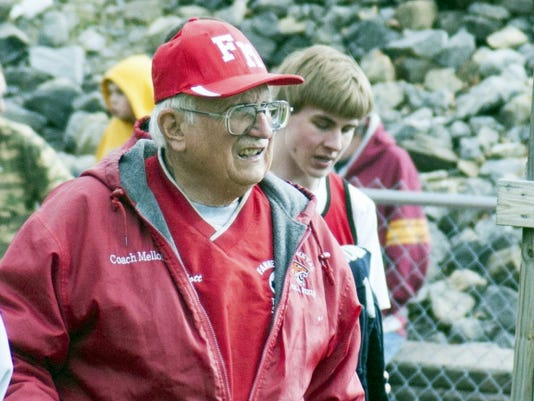 Fannett-Metal track coach Mathern Mellott has been the force behind the program since before it became an official PIAA program in 2012.