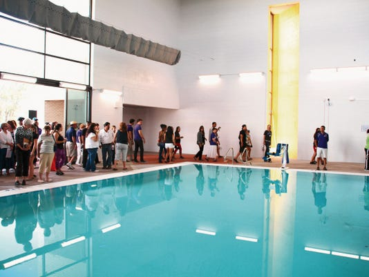 An open house for the new pool and fitness center at WNMU was held on Friday. Mary Alice Murphy - Sun-News