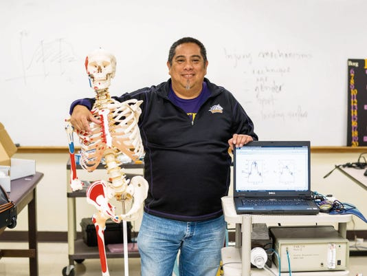 Courtesy Photo   Western New Mexico University professor Dr. Miguel Narvaez will be joining a handful of professors in the region this summer to study the effects of injury among collegiate athletes. Dr. Narvaez has been awarded fellowship in the first class of faculty to participate in the BUILDing SCHOLARS summer sabbatical program.