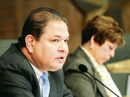 City Rep. Larry Romero has nominated former County Commissioner Carlos Aguilar to serve on the City Plan Commission.
