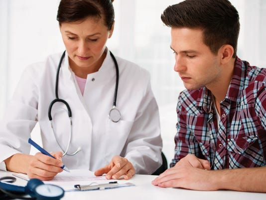 Courtesy thinkstockphotos.com   Ask your doctor about your prostate-specific antigen levels, which can help determine the health of your prostate.