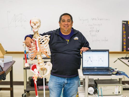 Dr. Miguel Narvaez of Western New Mexico University was one of five rgional professors chosen to receive a Building Scholars sabbatical, during which he will study sports injuries. Courtesy Photo