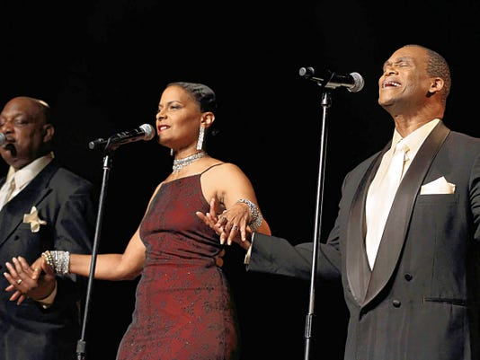 """A Las Vegas tribute group, """"Salute to the Platters with Elmer Armstrong"""" will appear at a benefit dinner and show that also features Las Cruces' """"Remember Then"""" Saturday at the Rio Grande Theatre."""
