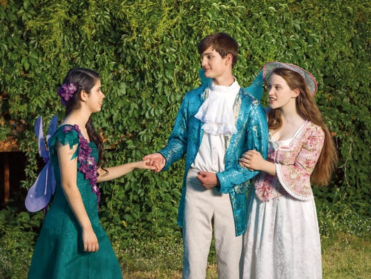 """Courtesy photo   A scene from Gilbert and Sullivan's  """"Iolanthe, or the Peer and the Peri,"""" a musical comedy presented by the Starlight Children's Theatre Co. of Las Cruces, showing at the Atkinson Recital Hall at New Mexico State University, beginning Friday."""