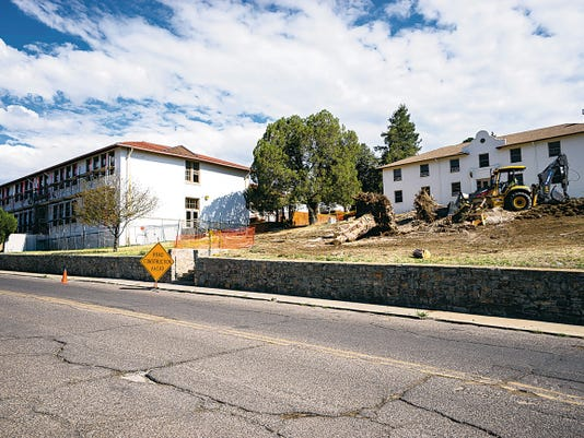 Renovations at Light Hall on the Western New Mexico University campus are leading the way for several projects schthis summer. Courtesy Photo