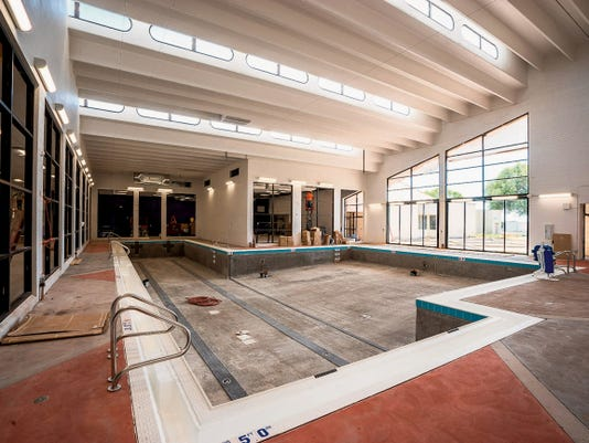 The new pool and refurbished fitness center at Western New Mexico University is expected to be open to the public on Sept. 8. Courtesy Photo