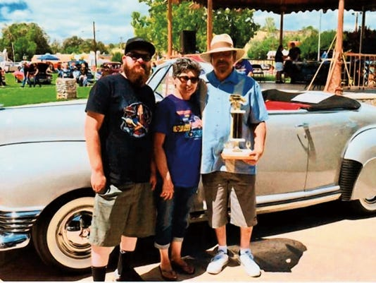 "This 1948 Nash Convertable, owned by Nick Chavez III of Silver City, was a winner at last year's ""Run to Copper Country"" Car Show. This year's car show, the 24th annual event, will be held from 8 a.m to 3 p.m. on Saturday in Gough Park. Courtesy Photo"