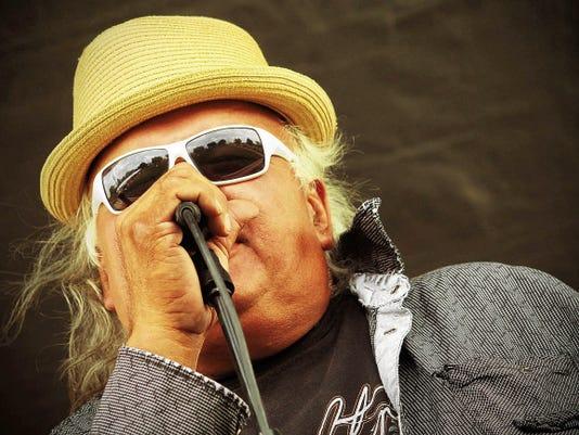 Gary Farmer counts blues legend Howlin' Wolf among his influences.