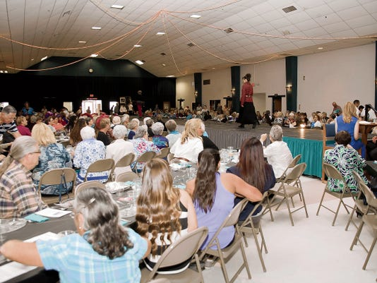 Guests at the 2014 Turquoise and Silver Tea viewed fall fashions courtesy of area merchants. The 2015 Turquoise and Silver Tea will be at the Willie Estrada Memorial Civic Center Oct. 18.