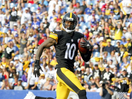 Pittsburgh Steelers wide receiver Martavis Bryant will miss the first month of the season after violating the NFL's substance abuse policy.