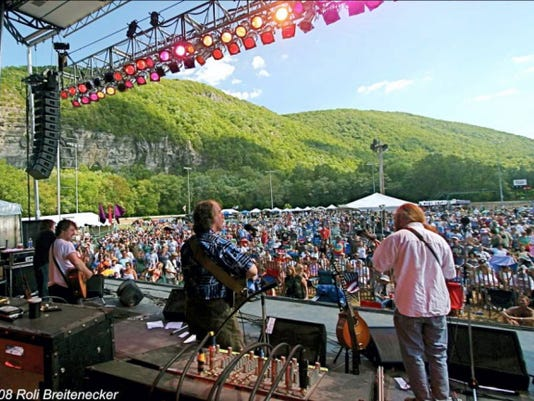 SUBMITTED DelFest is back Memorial Day weekend, and it's big. In the picturesque setting along the Potomac River, the York native Del McCoury's festival attracts thousands to Cumberland, Md.