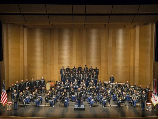 The U.S. Army Field Band will perform a free show at the Pullo Center Friday, June 12.