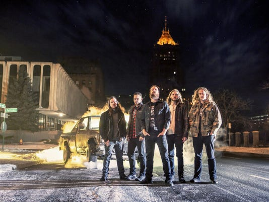 """After releasing their sophomore album """"Right to Rise"""" in June, Detroit rock band Wilson will perform at the Chameleon Club in Lancaster July 17."""