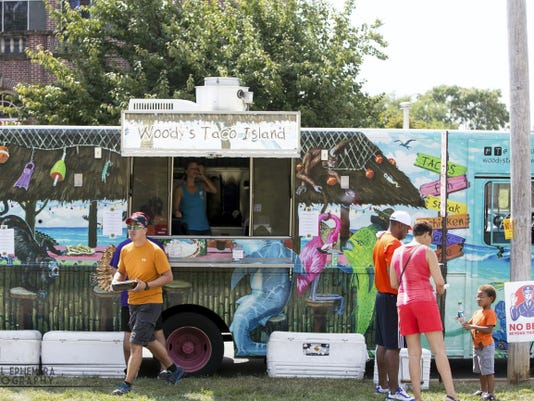 About 20,000 people are expected to attend this year's Foodstruck York at Penn Park. The event features about 40 regional food trucks, a beer garden, wine and live music from 11 a.m. to 6 p.m. Sunday, Sept. 6.