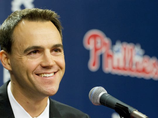 Philadelphia Phillies general manager Matt Klentak expects his team to make some moves as the trade deadline approaches. AP FILE PHOTO