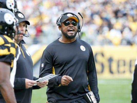 Pittsburgh Steelers head coach Mike Tomlin has led his team to a 4-4 start this season.